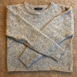 Grey Brandi Melville Sweater (One size fits all)